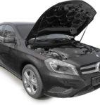 Амортизаторы капота на Mercedes-Benz A-Class / GLA-Class (UMBAKL/GLA012)