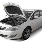 Амортизаторы капота на Opel Astra (UOPAST011)